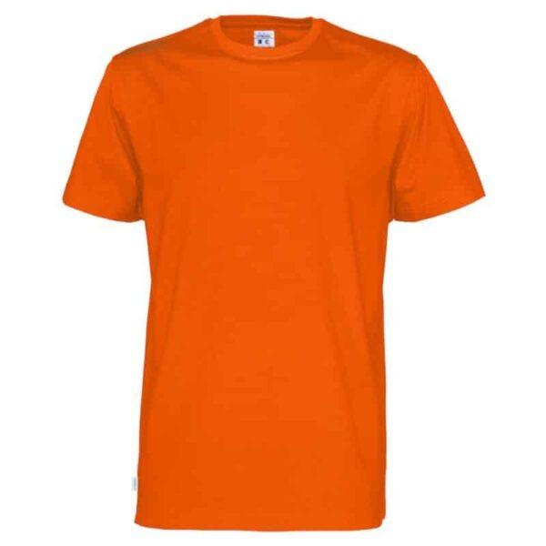 Sunglobe-t-paidat-oranssi ekologista puuvillaa