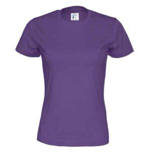 Naisten t-paita ekologista puuvillaa 141007