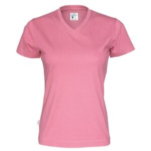 Naisten v-aukkoinen t-paita 141021
