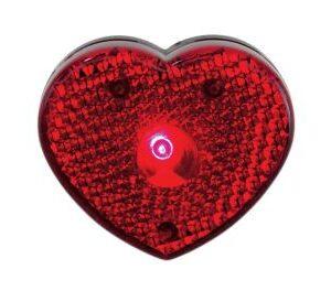 Vilkkuvalo sydän 0403133