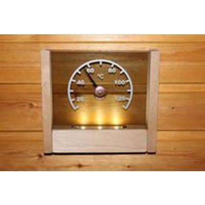 Led-saunamittari termostaattiohjattu 01607