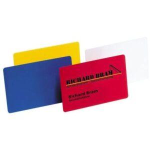 Käyntikortti, muovinen 7032
