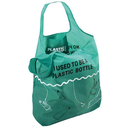 Ostoskassi kierrätetyistä muovipulloista