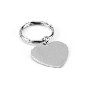 Avaimenperä alumiinia, sydän 93159