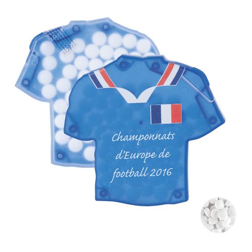 Pastillirasia T-shirt mintdispenser duo 501216