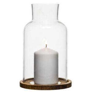 Kynttilälyhty Oval Oak pieni 5017191
