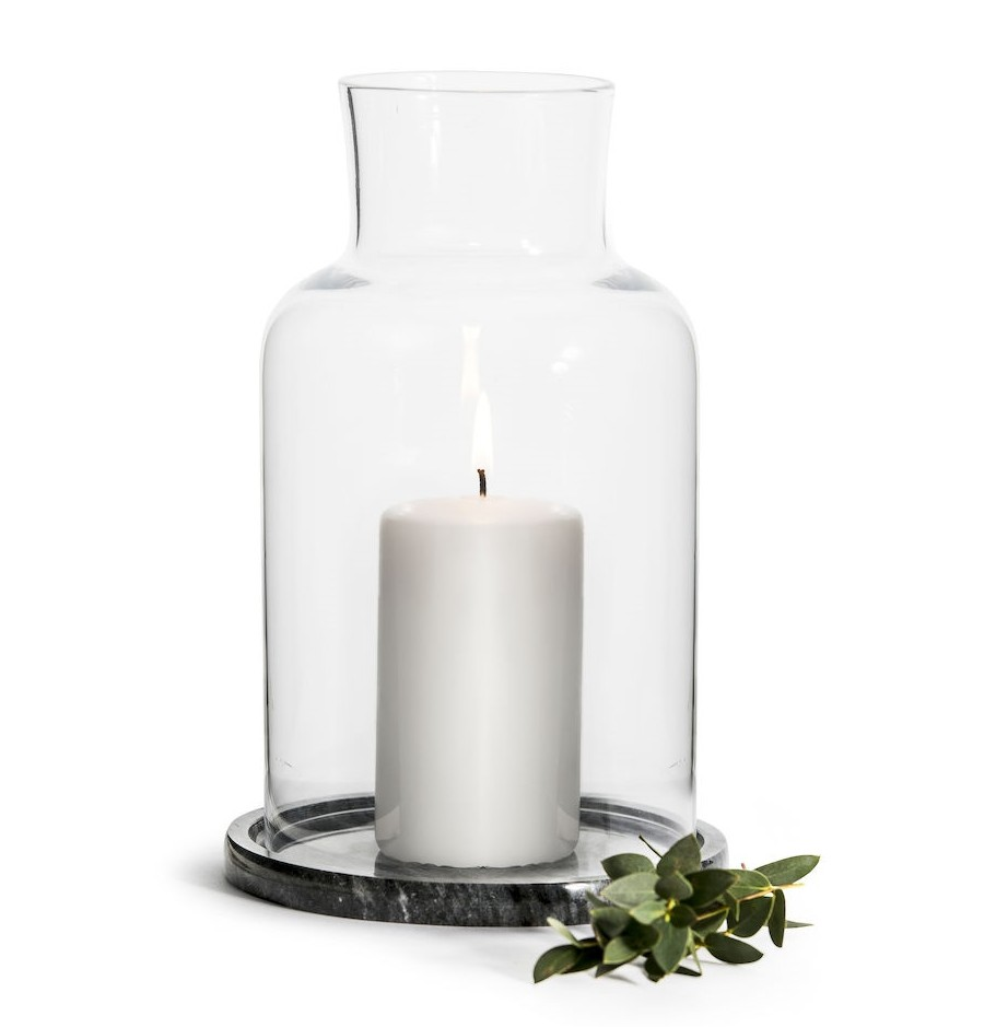 Nature marble kynttilälyhty 5017698
