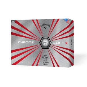 Golfpallot Callaway Chrome Soft X 744611