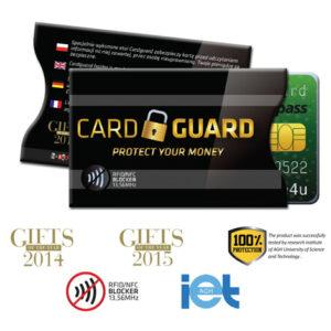 Turvatasku Card Guard, Loistava messulahja!