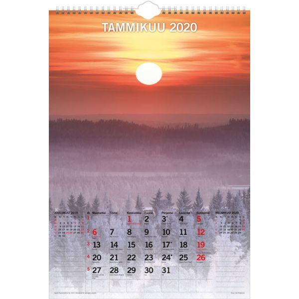 Kalenteri, Isomaisema