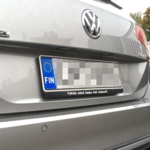 Auton kilpimainos 01638