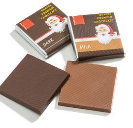 Jouluaiheisia suklaapaloja