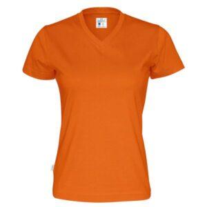 T-paita v-aukkoinen naisten 141021