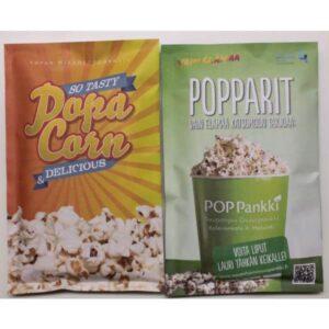 Popcornpussi omalla painatuksella 1230
